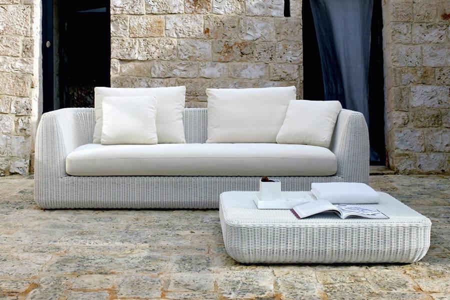 Canapea AGORA cu 3 locuri si pernute decorative